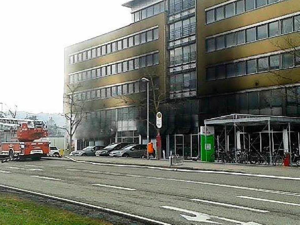 Die verrusste Fassade  | Foto: Fabian Vögtle