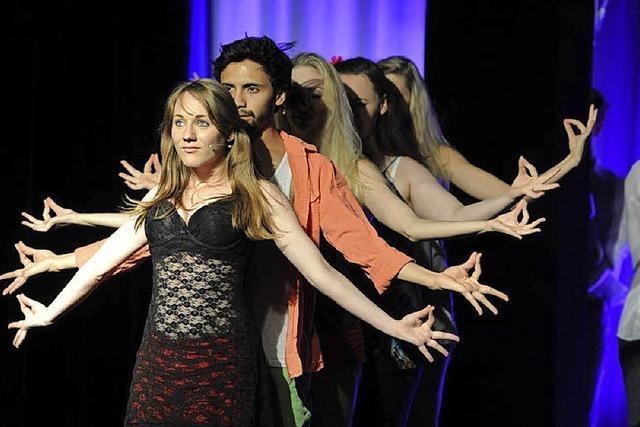 Schüler der Freiburger Musical- und Schauspielschule präsentieren Musical-Highlights