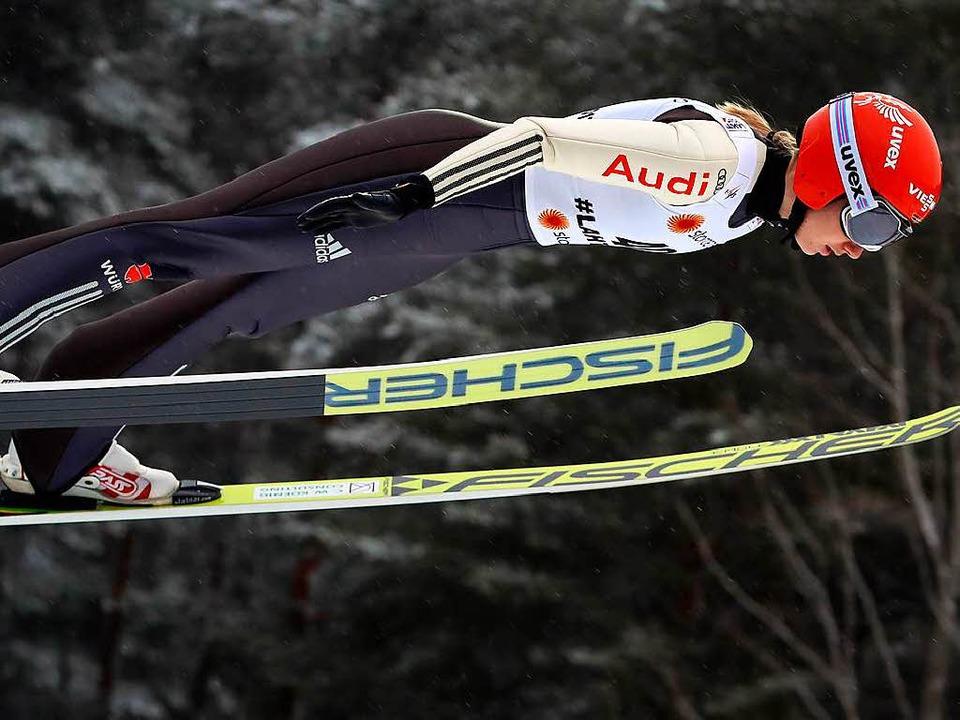 Svenja Würth überzeugte mit dem sechsten Rang.  | Foto: dpa