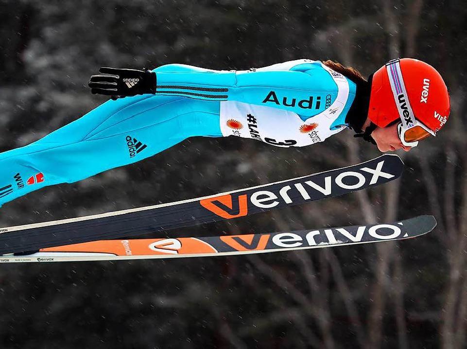 Die Schwarzwälderin Ramona Straub belegte den 33. Rang.  | Foto: dpa