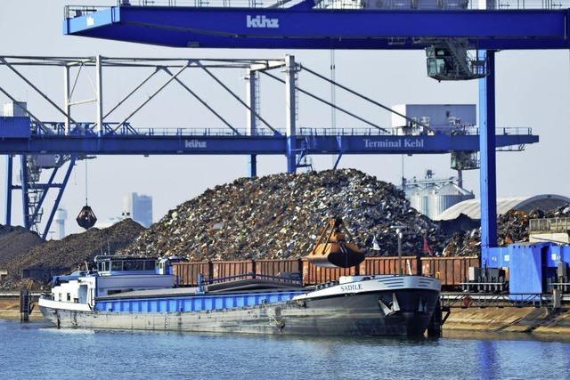Kehler Hafen hat wieder Oberwasser