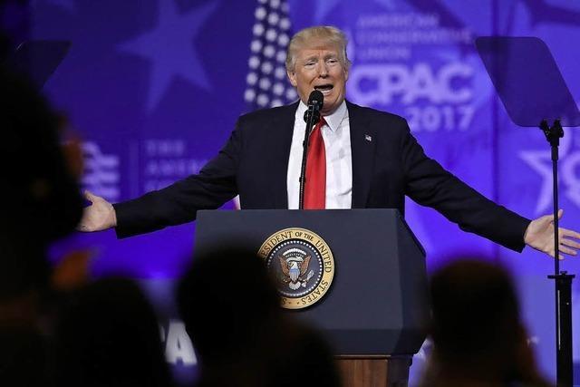 Jubel für Trump bei der CPAC-Konferenz
