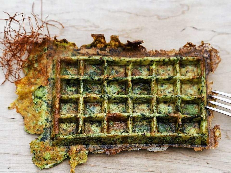 Schmeckt nicht nur Matrosen: Waffel Popeye    | Foto: MICHAEL Wissing