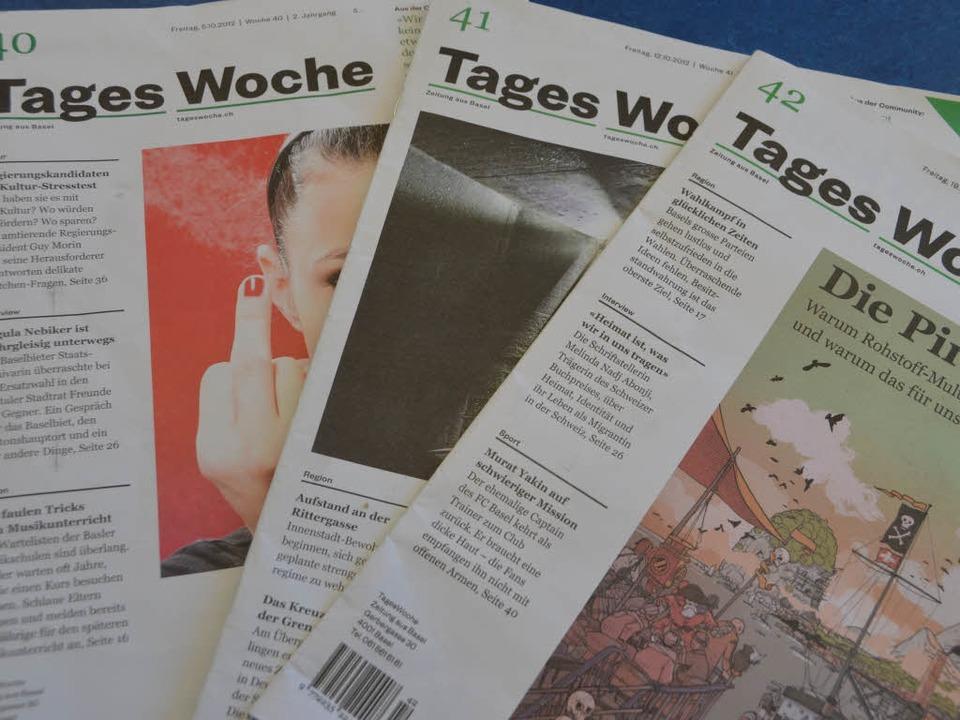 Seit 2011 gibt es die Tageswoche in Basel.  | Foto: Michael Baas