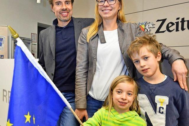 Warum Europa für eine Familie aus Kirchzarten eine Herzenssache ist