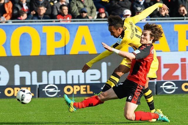 SC Freiburg geht gegen Borussia Dortmund unter