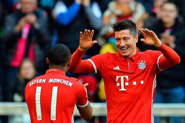 FC Bayern demontiert den HSV mit 8:0
