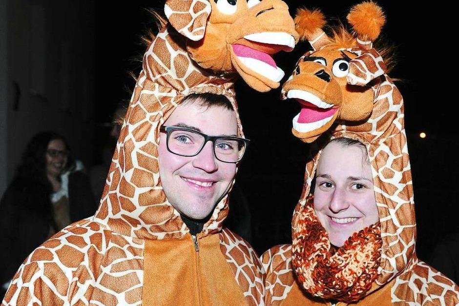Der Nachtumzug am Freitag in Schuttern (Foto: Pressebüro Schaller)