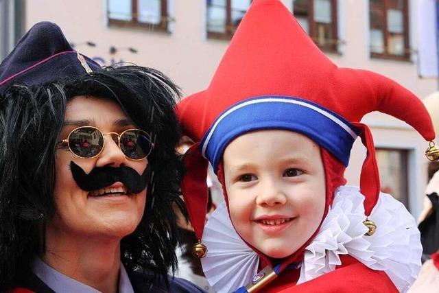 Fotos: Kinderumzug der Narrenzunft in Endingen