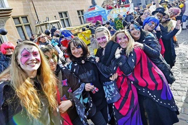 Fotos: Straßenfasnet in der Freiburger Innenstadt