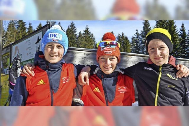 Rekordbeteiligung bei der Biathlon-Landesmeisterschaft