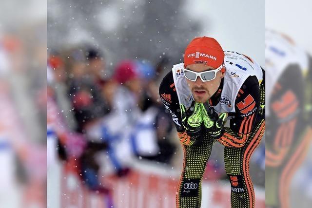 Wie Breitnau den Teamtitelgewinn von Fabian Rießle gefeiert hat