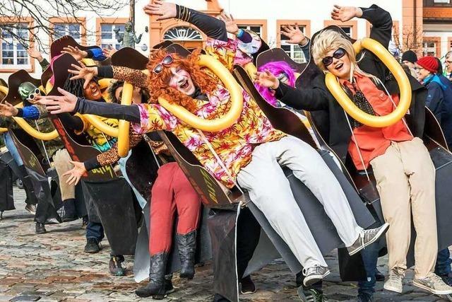 Fotos: Grafenhausens Narren feiern beim Fasnetumzug 2017
