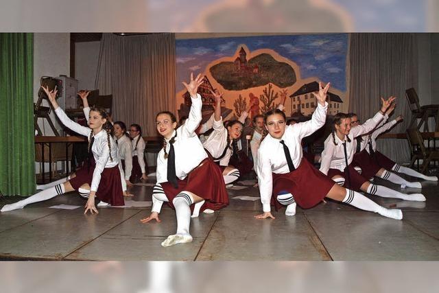 Musik, Tanz und flotte Sprüche