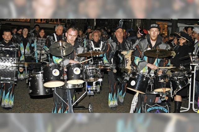 Guggenmusiker lassen die Stadt vibrieren