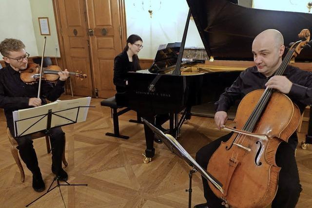 Spyros Klaviertrio: Leidenschaftliche Energie