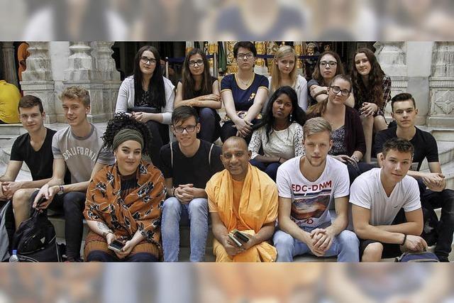 Besuch bei indischer Partnerschule