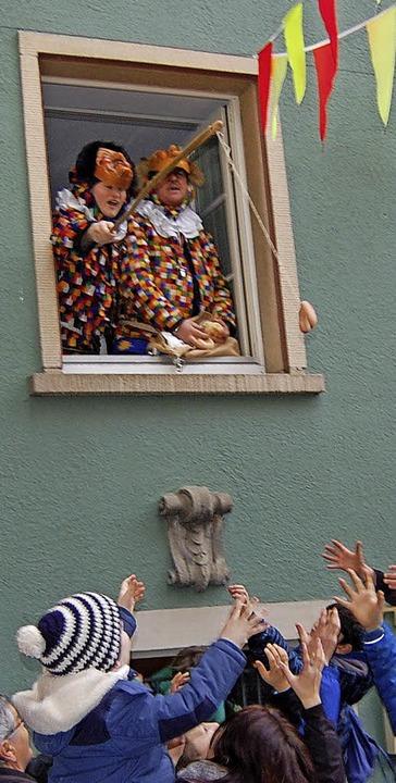 Auch am Rebstock-Fenster zeigen sich die Narronen.   | Foto: Dramac