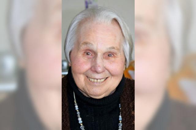 Klara Stoll wird 85: Blumen sind ihre große Leidenschaft