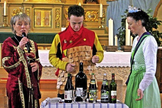 Eine Narrenmesse mit Weinprobe