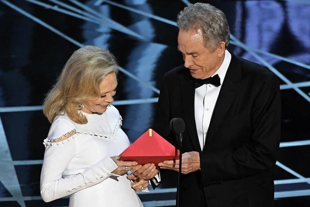 Eine Oscar-Verleihung mit einem unglaublichen Finale