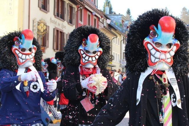 Fotos: Rosenmontagsumzug in Schönau