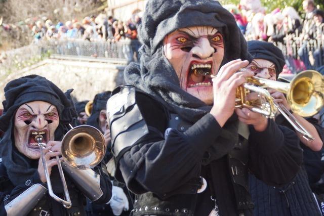 Fotos: Der Rosenmontagsumzug in Todtnau