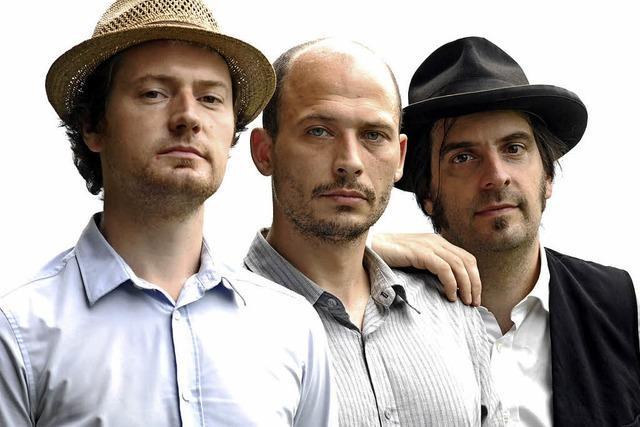 Die Folk-Gruppe Ballad of Crows spielt in der Wodanhalle