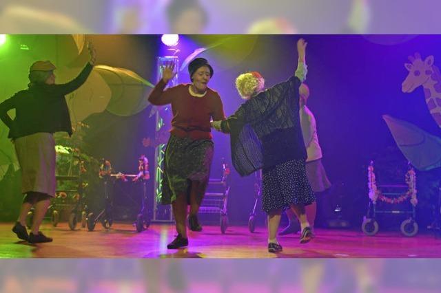 450 Närrinnen feiern beim Geißenschoppen in Emmendingen