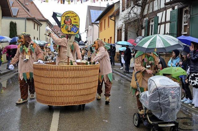 Feucht-fröhliches Narrenfinale in Forchheim