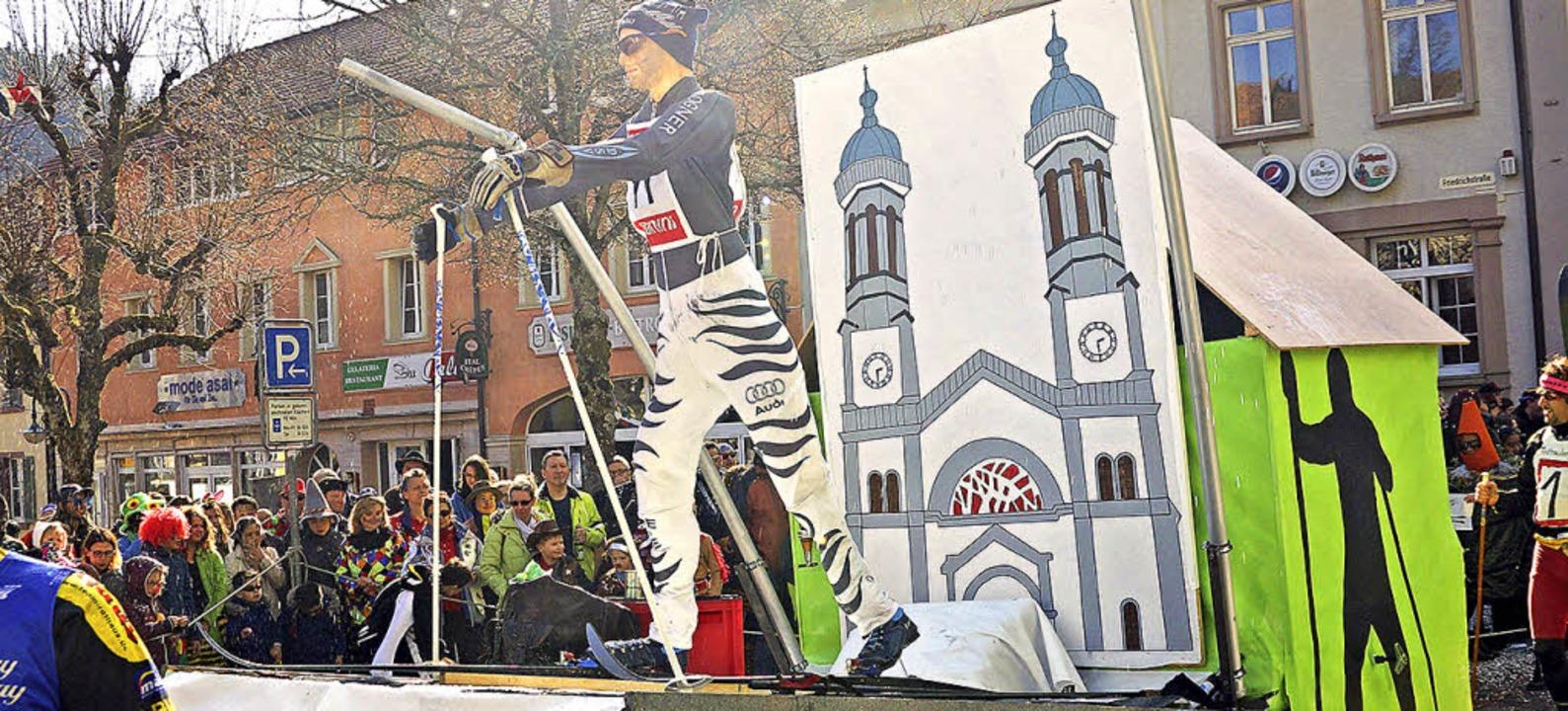 Thema der  Rucksackberger: 3-Königslauf ohne Schnee  | Foto: Verena Wehrle