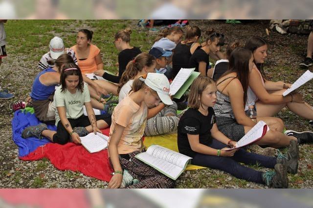 Sommerlager mit der KJG Görwihl