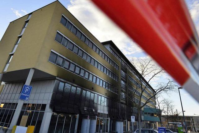 Ein Teil des Freiburger Solar-Centers nach Brand freigegeben