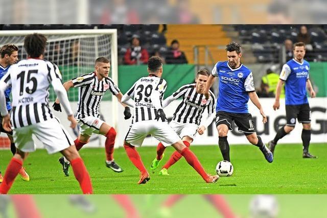Frankfurt im Viertelfinale - Lotte gegen Dortmund abgesagt