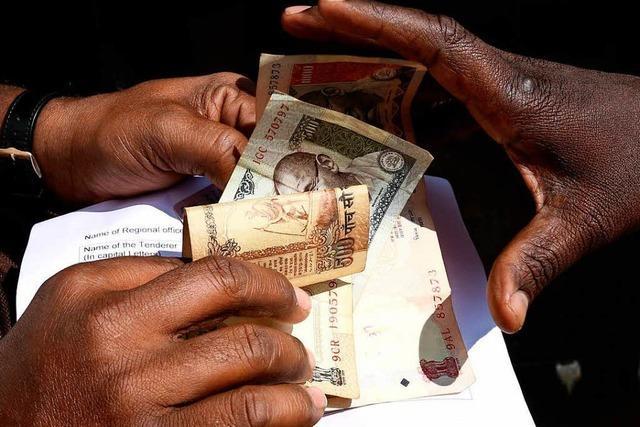 Indien wächst stark – trotzt Bargeld-Chaos