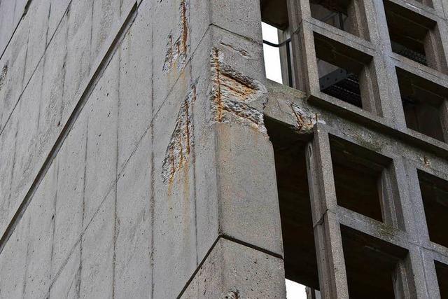 Warum der Turm der Freiburger Kreuzkirche abgerissen werden muss