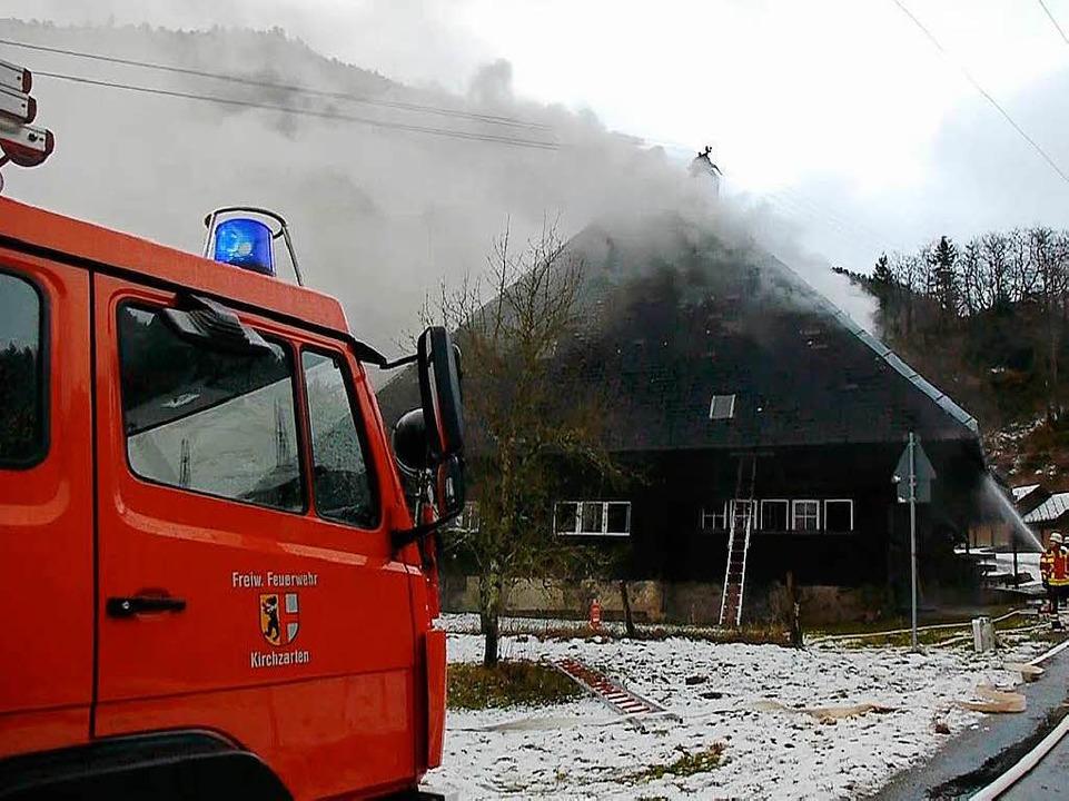 Einsatz beim Mederlehof im Zastlertal bei Oberried  | Foto: kamera24.tv