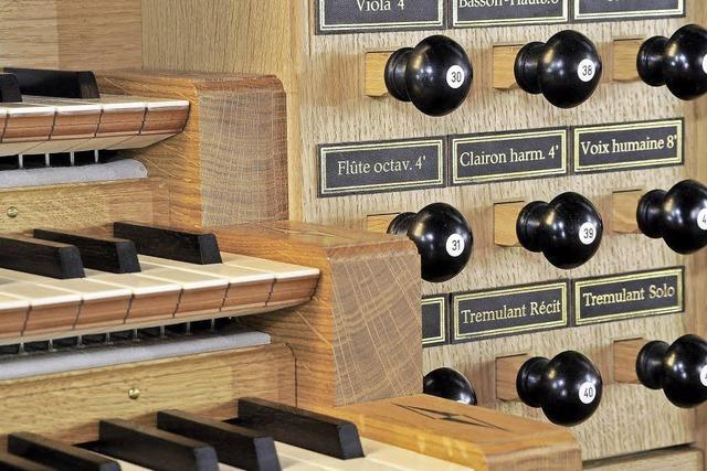 Zur Fastenzeit: Die Orgelreihe