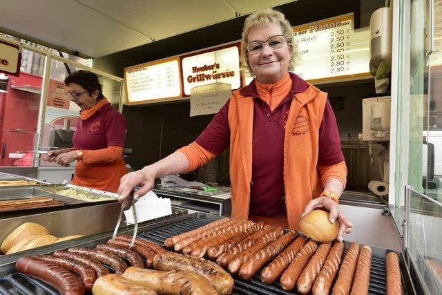 Wurststandbetreiber Hauber klagt gegen Stadt Freiburg