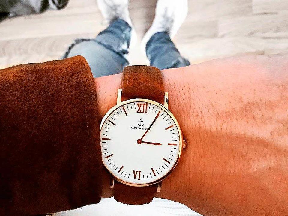 oder Uhren, die Kooperationen lohnen sich für Waldemar auch finanziell.  | Foto: Waldemar Kempf