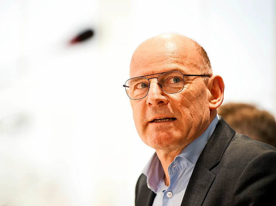 Verkehrsminister Winfried Hermann begrüßt das Berliner Raserurteil.    Foto: Daniel Naupold