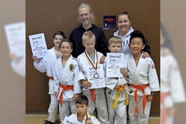 Zwei Titel für TVN-Judoka