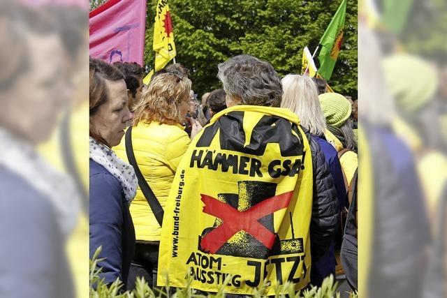 Demos gegen Atomkraft