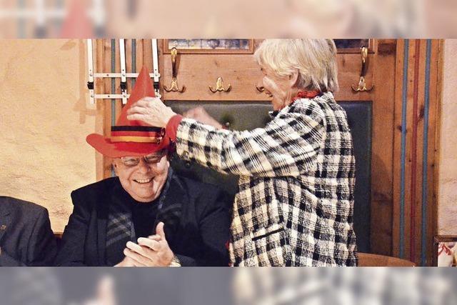 Struve-Hut geht an Kommunalpolitiker