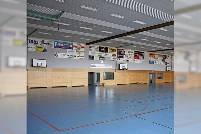 Gemeinde findet nur kleinere Schäden in der Halle