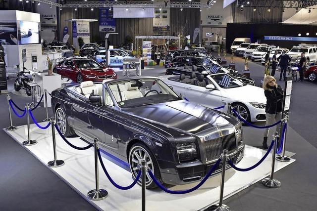 Luxus und Elektroflitzer