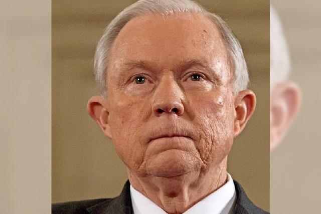 Trumps Justizminister unter Druck