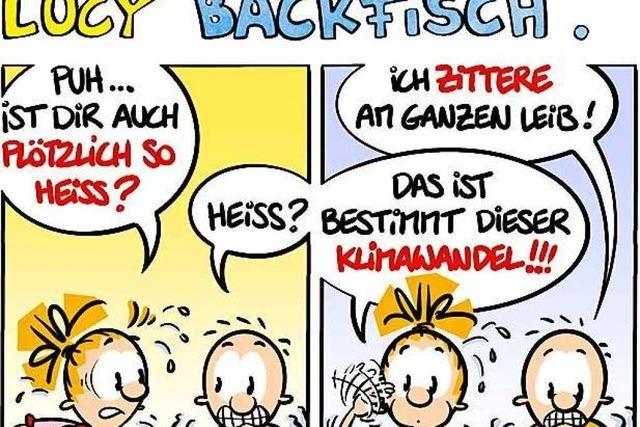 Lucy Backfisch: Nix wie weg hier!