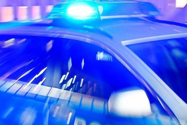 Auffahrunfall in Lörrach: Etwa 7000 Euro Schaden