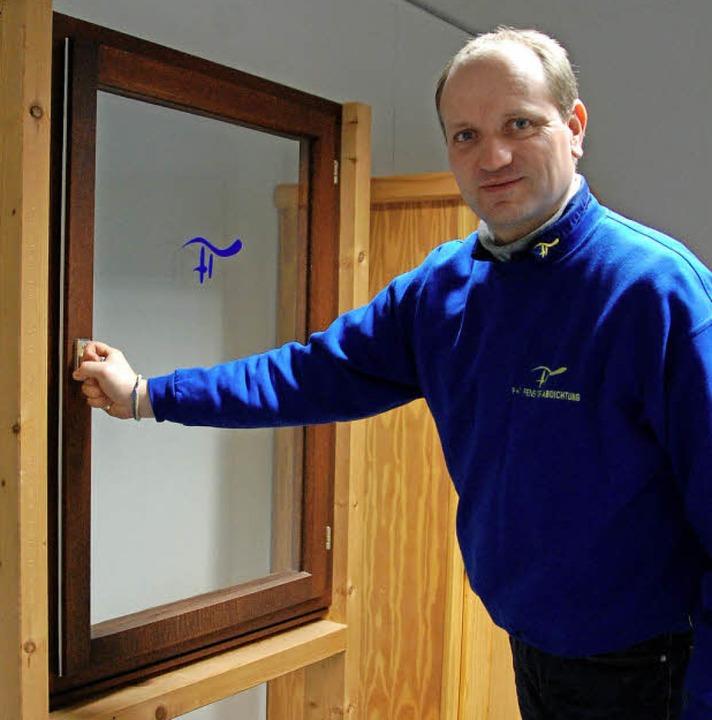 Saniert alte Holzfenster  effektiv und...bacher <Bildnachweis>hf</Bildnachweis>  | Foto: Herbert Frey
